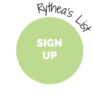 Rythea's List: Sign-up